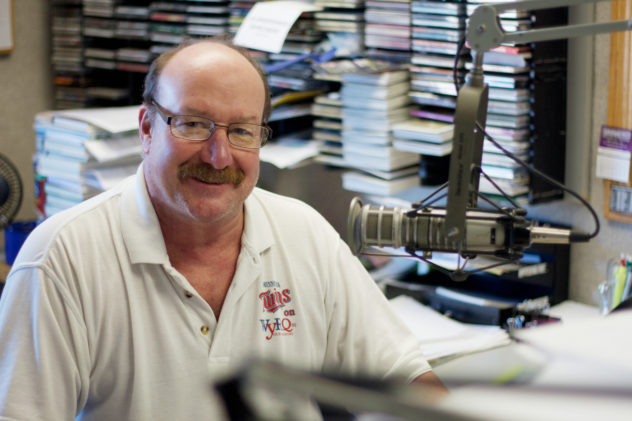 Al Windspreger, WYRQ Program Director and Little Falls Radio Sports Director